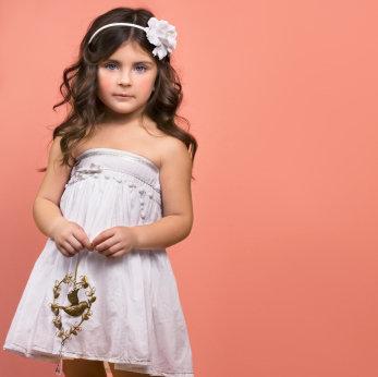 Kinder Kleider für junge Mädchen